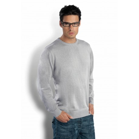 KARIBAN MENS ROUND NECK JUMPER