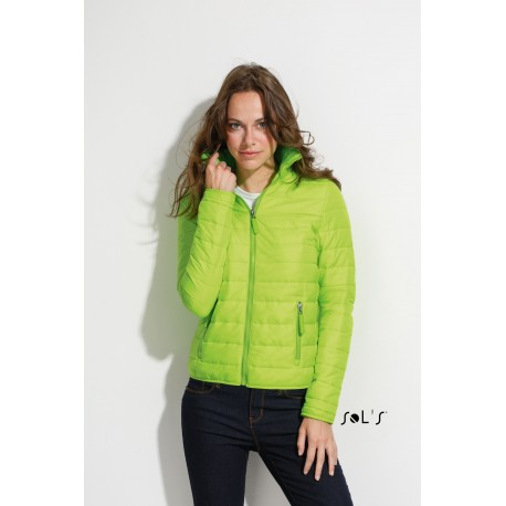 SOL'S RIDE WOMEN WOMENS LIGHT PADDED JACKET
