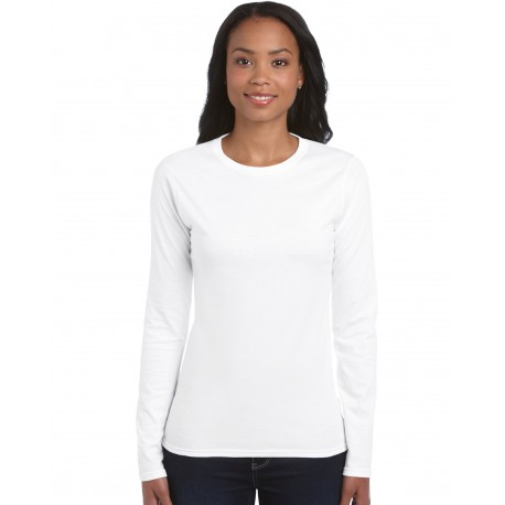 GILDAN SOFTSTYLE LADIES LONG SLEEVE T-SHIRT