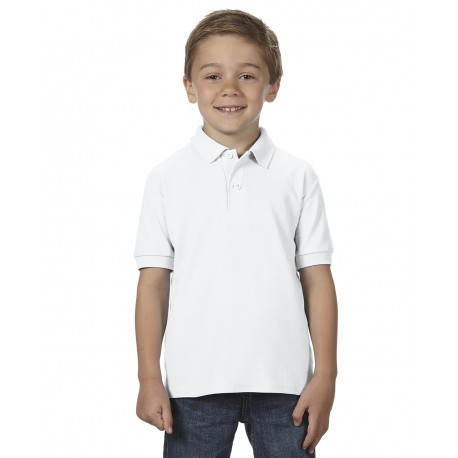GILDAN DRYBLEND YOUTH DOUBLE PIQUÉ POLO