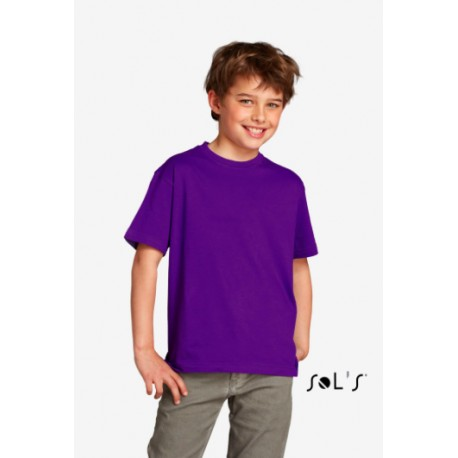 SOL'S REGENT FIT KIDS ROUND COLLAR T-SHIRT