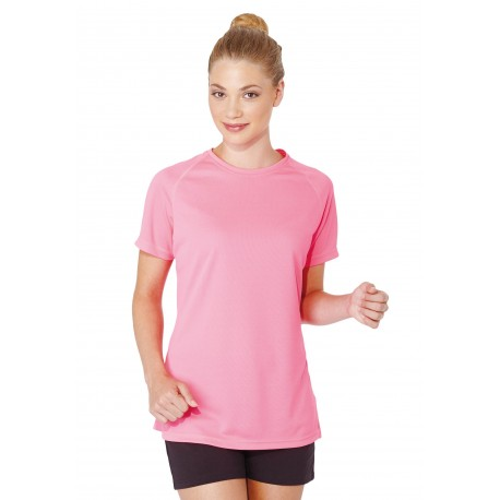 PROACT LADIES SHORT SLEEVE SPORTS T-SHIRT