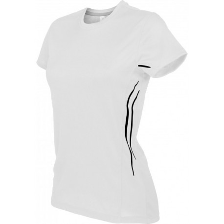 KARIBAN SPORT LADIES SHORT SLEEVE SPORTS T-SHIRT