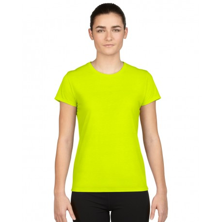 GILDAN ADULT WOMENS PERFORMACE T-SHIRT