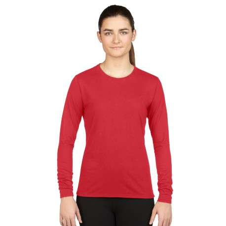 GILDAN PEFORMANCE LADIES LONG SLEEVE T-SHIRT