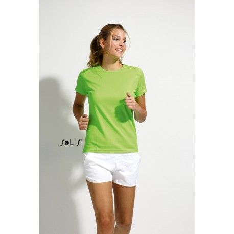 SOLS SPORTY WOMEN RAGLAN-SLEEVED T-SHIRT