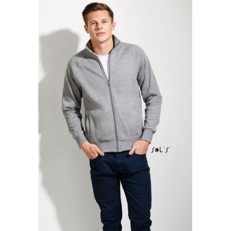 SOL'S SUNDAE MENS ZIPPED JACKET