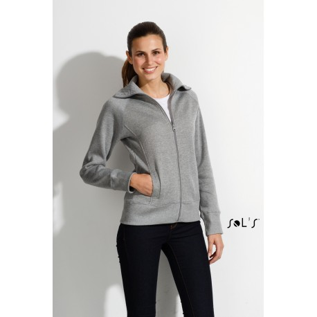 SOL'S SODA WOMENS ZIPPED JACKET