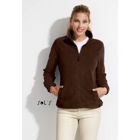 SOL'S NORTH WOMEN ZIPPED FLEECE JACKET