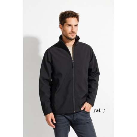 SOL'S RACE MEN MEN'S SOFTSHELL ZIP JACKET