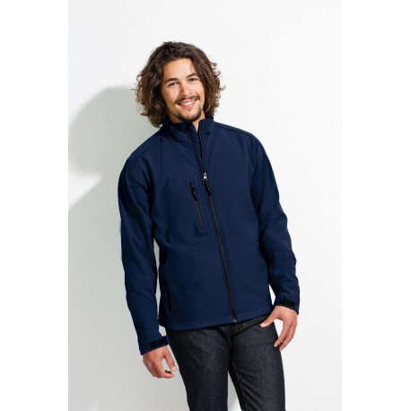 SOL'S RELAX MEN SOFTSHELL ZIPPED JACKET