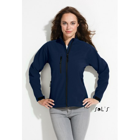 SOL'S ROXY WOMEN SOFTSHELL ZIPPED JACKET