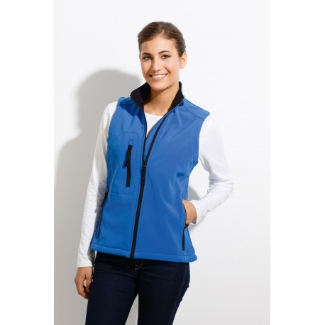 SOL'S RALLYE WOMEN SLEEVELESS SOFTSHELL JACKET
