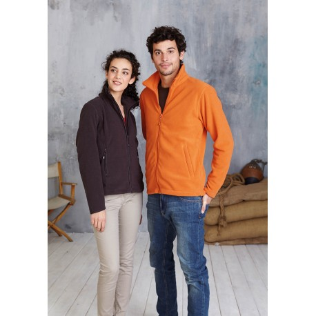 KARIBAN FALCO ZIP THROUGH FLEECE JACKET