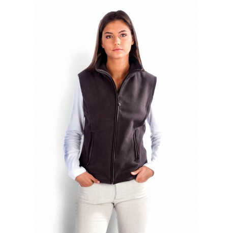 KARIBAN MELODIE LADIES MICRO FLEECE GILET
