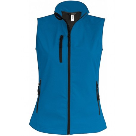 KARIBAN LADIES SOFTSHELL BODYWARMER