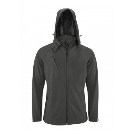 GEACA KARIBAN HOODED SOFTSHELL