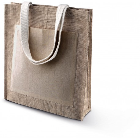 KIMOOD JUTE SHOPPER
