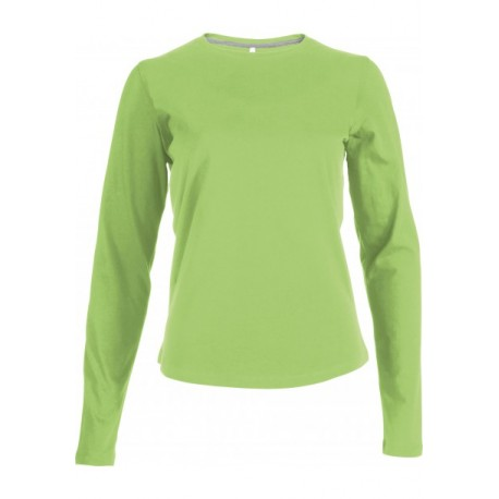 KARIBAN LADIES LONG SLEEVE ROUND NECK T-SHIRT