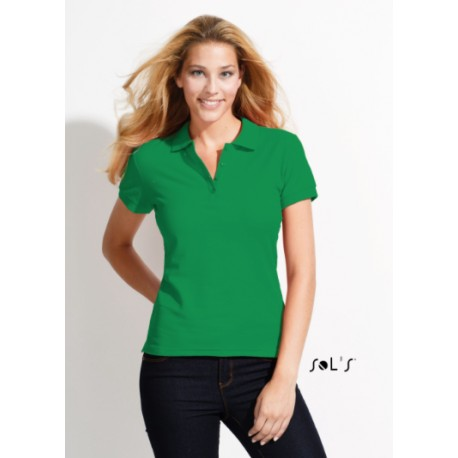 SOL'S PASSION WOMEN POLO SHIRT