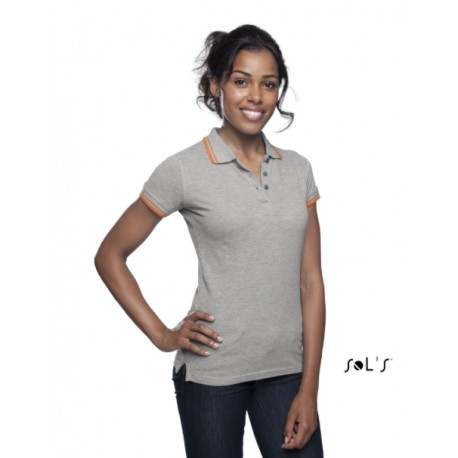 SOL'S PASADENA WOMEN POLO SHIRT