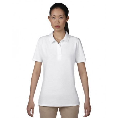 ANVIL WOMENS DOUBLE PIQUÉ POLO