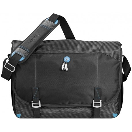 "Checkpoint friendly 17"" laptop messenger bag"