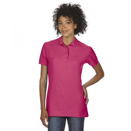 GILDAN PREMIUM COTTON LADIES DOUBLE PIQUÉ POLO