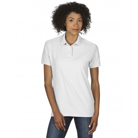 GILDAN DRYBLEND LADIES DOUBLE PIQUÉ POLO