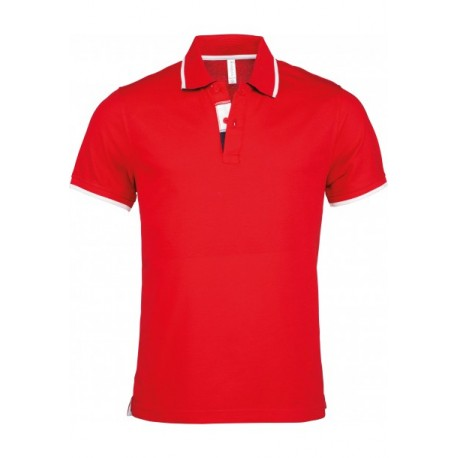 KARIBAN MENS SHORT SLEEVE POLO SHIRT