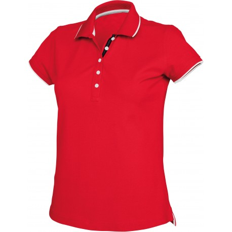 KARIBAN LADIES SHORT SLEEVE POLO SHIRT