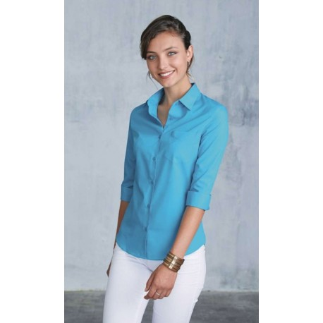 LADIES' 3/4 SLEEVE SHIRT KARIBAN