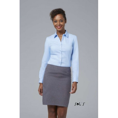 SOL'S BLAKE WOMEN LONG SLEEVE STRETCH SHIRT