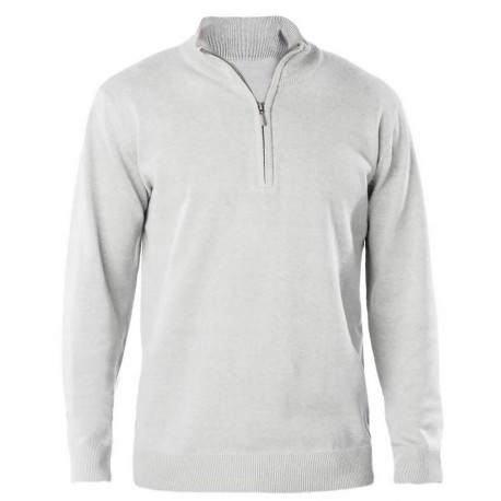 KARIBAN MEN'S 1/4 ZIP JUMPER KARIBAN