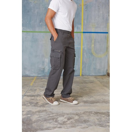 KARIBAN MEN'S CARGO TROUSERS
