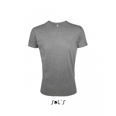 SOL'S REGENT FIT MEN'S ROUND COLLAR CLOSE FITTING T-SHIRT