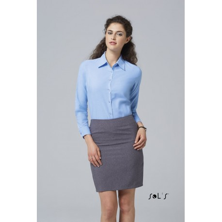 SOL'S EMBASSY LONG SLEEVES OXFORD WOMEN SHIRT