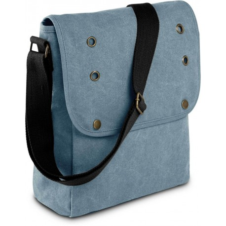 SHOULDER BAG IN CANVAS