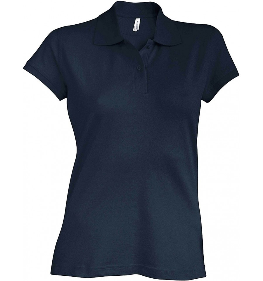 9660664b29be KARIBAN BROOKE LADIES SHORT SLEEVE POLO SHIRT - Simple Clothing
