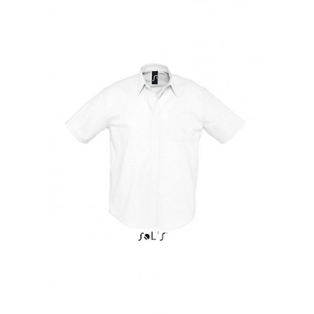 SOL'S BRISBANE SHORT SLEEVES OXFORD MEN SHIRT