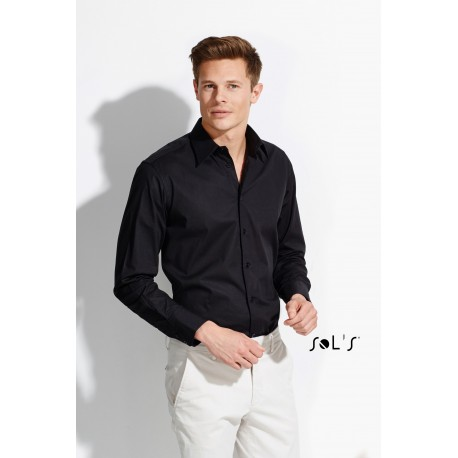 SOL'S BRIGHTON LONG SLEEVES STRETCH MEN SHIRT