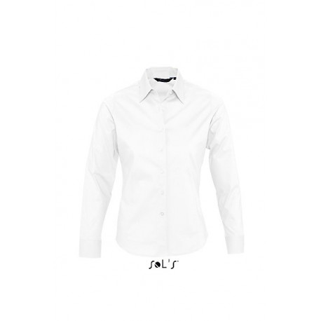 SOL'S EDEN LONG SLEEVES STRETCH WOMEN SHIRT