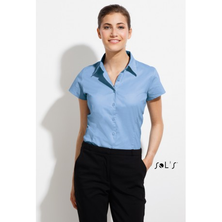 SOL'S EXCESS SHORT SLEEVES STRETCH WOMEN SHIRT