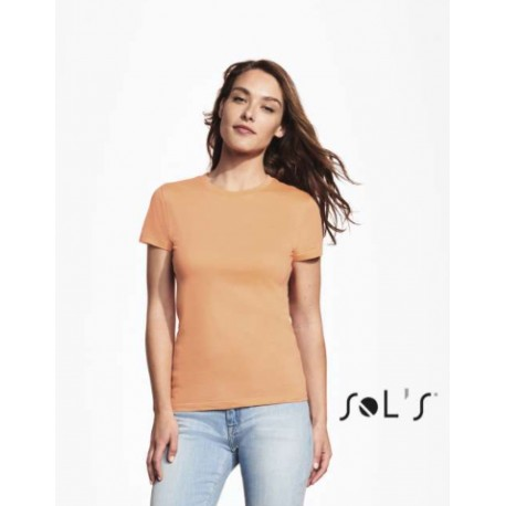 SOL'S REGENT ROUND COLLAR T-SHIRT LADY