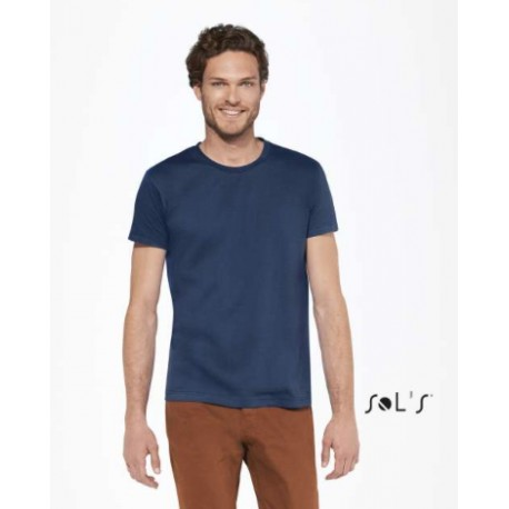 SOL'S IMPERIAL FIT MEN ROUND COLLAR T-SHIRT