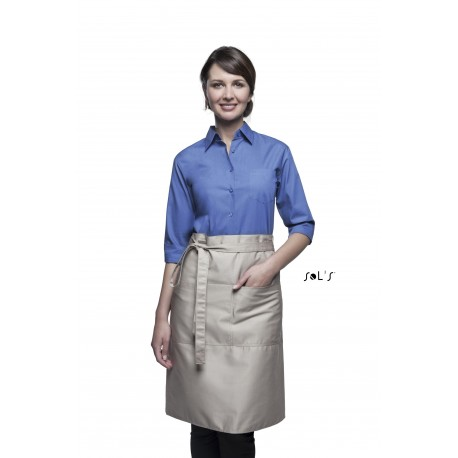 SOL'S GREENWICH MEDIUM APRON WITH POCKETS