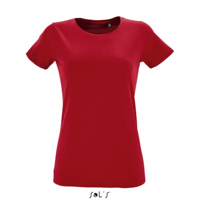SOL'S REGENT FIT WOMEN ROUND COLLAR FITTED T-SHIRT