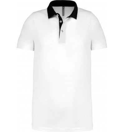 Tricou Polo Kariban TWO-TONE JERSEY